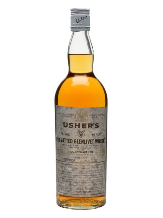 Usher's Old Vatted Glenlivet / Bot.1970s Blended Scotch Whisky
