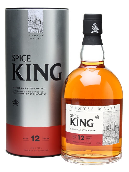 Wemyss Spice King 12 Year Old Blended Malt Scotch Whisky