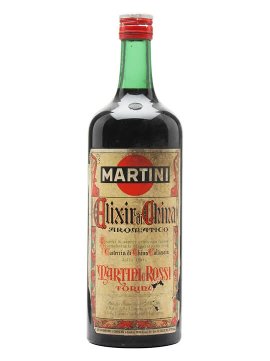 Martini Elixir China / Bot.1960s