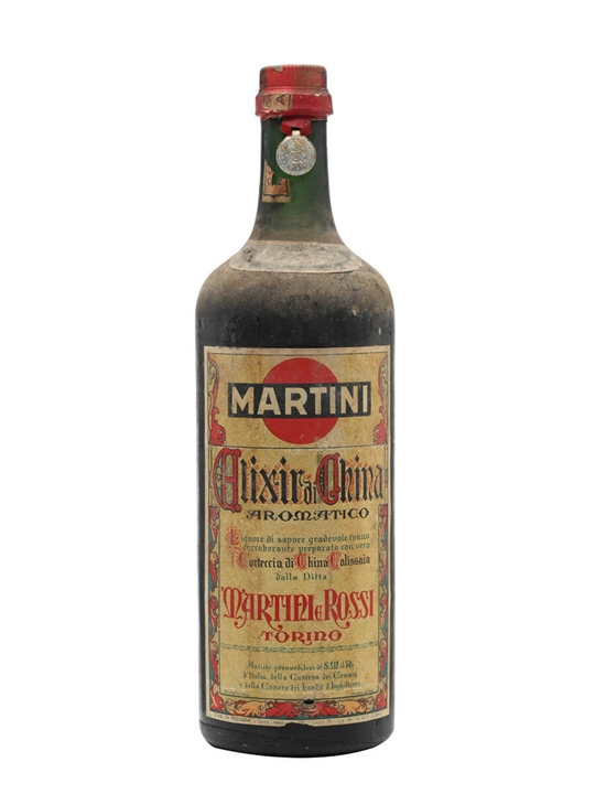 Martini Elixir China / Bot.1950s