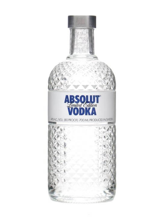 Absolut Glimmer Vodka