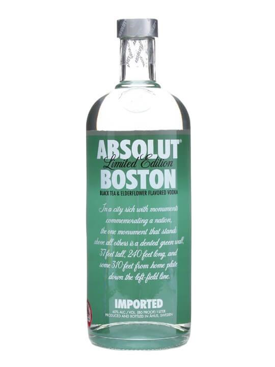 Absolut Boston / Black Tea & Elderflower Vodka