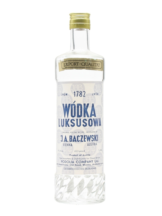 Luksosowa Vodka / Bot.1970s