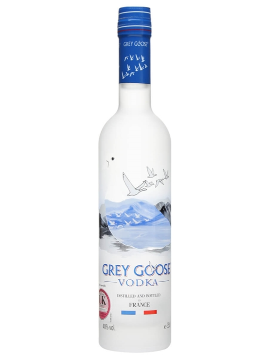 Grey Goose Vodka  Half Bottle