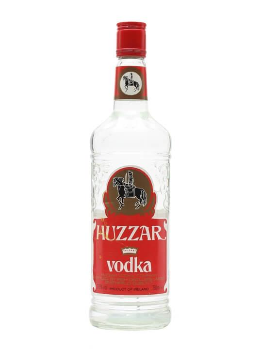 Huzzar Irish Vodka / Bot.1980s