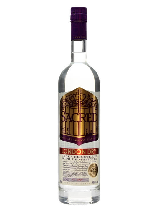 Sacred London Dry Vodka / 7 Botanicals