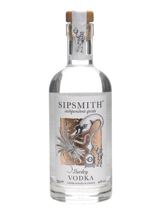 Sipsmith Barley Vodka / Half Bottle