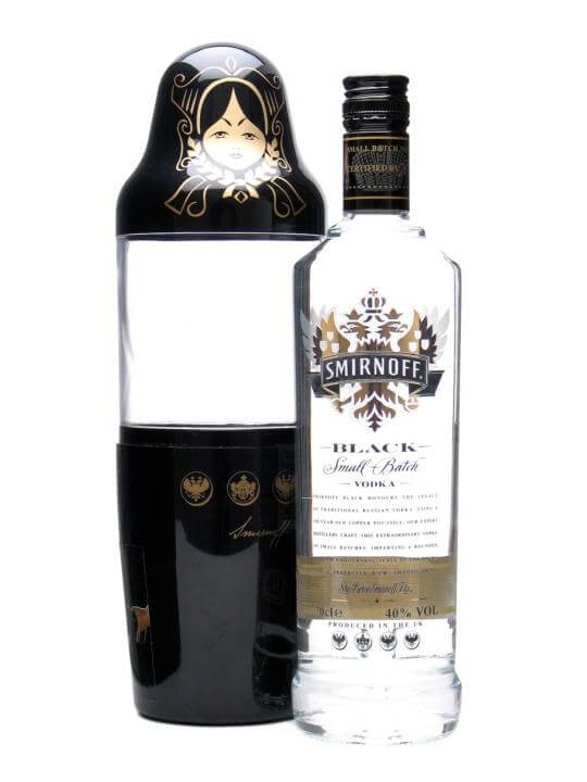 Smirnoff Black Vodka / Matrioshka Doll