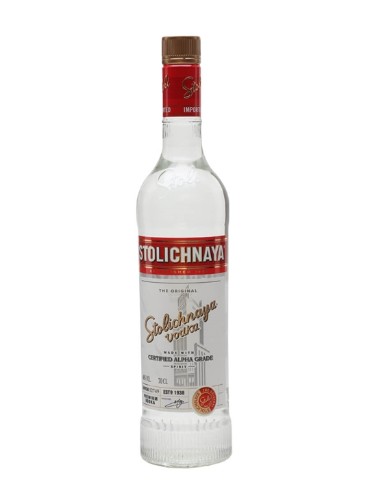 Stolichnaya Red Vodka