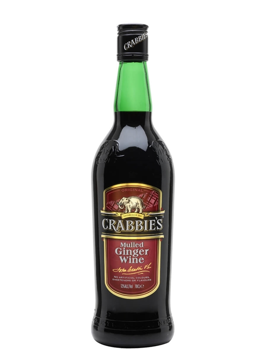 Crabbie's Mulled Ginger Wine
