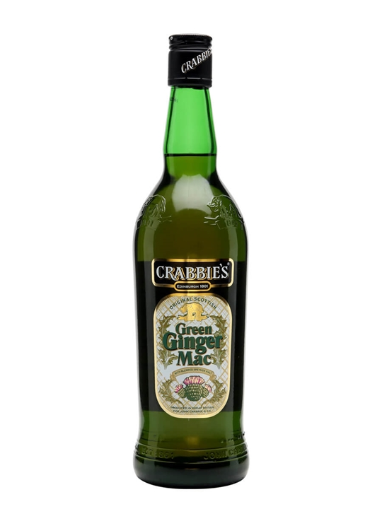 Crabbie's Green Ginger Mac / Ginger Wine & Glen Moray