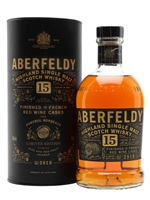 Aberfeldy  |  15 Year Old  |  French Red Wine Cask Finish