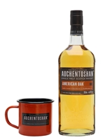 Auchentoshan American Oak and Tin Cup Gift Set