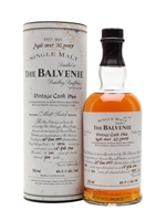Balvenie 1966  |  Over 30 Year Old