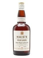 Haig's Gold Label  |  Bot. 1940s Spring Cap