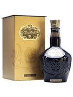 Royal Salute 21 Year Old  |  Blue Wade Decanter