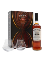 Bowmore 15 Year Old  |  2 Glasses Set