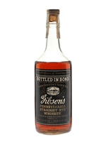 Gibson's 1940 Straight Rye  |  5 Year Old