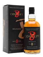 Caol Ila     8 Year Old     Concept 8 Release 2
