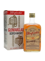Glenfarclas 25 Year Old  |  Bot. 1970's