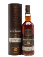 Glendronach 1992  |  27 Year Old  |  Oloroso Cask  |  UK Exclusive