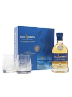 Kilchoman Machir Bay Gift Pack  |  2 Tasting Glasses