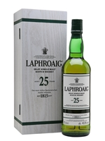 Laphroaig 25 Year Old  |  Cask Strength  |  Bot. 2017