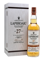 Laphroaig 27 Year Old  |  Limited Edition  |  Bot. 2017