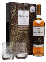 Macallan 12 Year Old  |  Sherry Oak  |  Glass Set