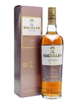Macallan 17 Year Old  |  Fine Oak Triple Cask Matured