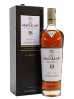 Macallan  |  18 Year Old  |  Sherry Oak  |  2020 Release