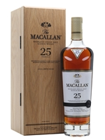Macallan 25 Year Old  |  Sherry Oak  |  2019 Release
