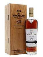 Macallan 30 Year Old  |  Sherry Oak  |  2021 Release