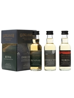 Glenglassaugh Mini Set 3 x 5cl  |  Evolution, Revival & Torfa