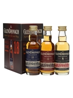 Glendronach Mini Pack  |  8, 12 & 18 Year Old's