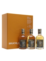 Bruichladdich Barley Exploration Gift Pack  |  3 x 20cl