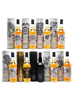 Game of Thrones  |  Single Malt Whiskies  |  Set of 9 Bottles