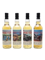 The WHisky Trail Cars Series Set  |  4 Bottles