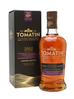 Tomatin 2002  14 Year Old Cabernet Sauvignon Cask