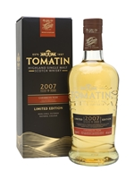 Tomatin 2007  9 Year Old Caribbean Rum Cask