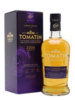 Tomatin 2008     12 Year Old     Monbazillac Cask