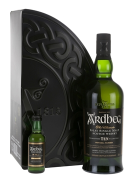 Whisky: Ardbeg 10 Year Old + Uigeadail Mini Pack
