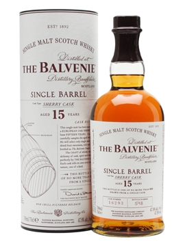 Whisky: Balvenie 15 Year Oldsingle Barrel Sherry Cask