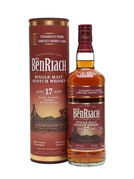 Whisky: Benriach 17 Year Oldpedro Ximenez Finish