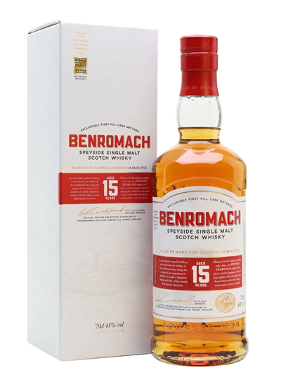 Benromach 15 Year Old – The Whisky Exchange Whisky of the Year
