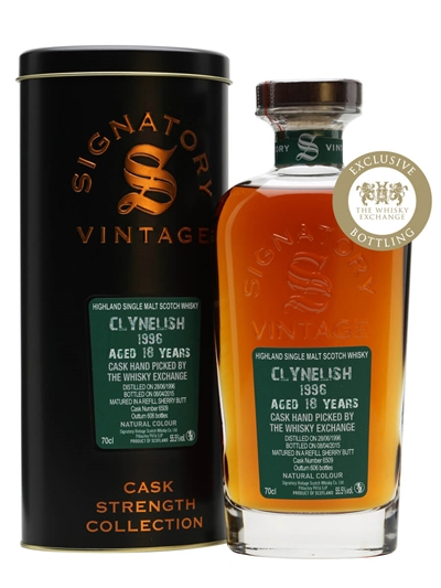 Clynelish 1996 16 years old Signatory TWE Exclusive