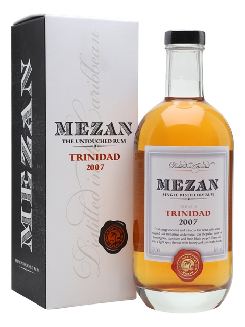 Mezan Belize 2008 Rum The Whisky Exchange
