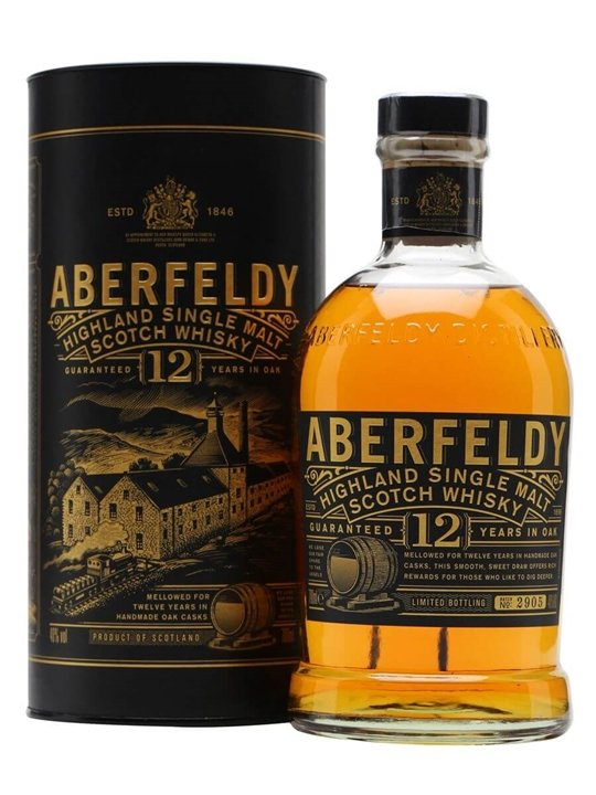 Aberfeldy 12 Year Old Scotch Whisky The Whisky Exchange