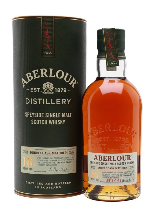 Aberlour 16 Year Old Double Cask Scotch Whisky The