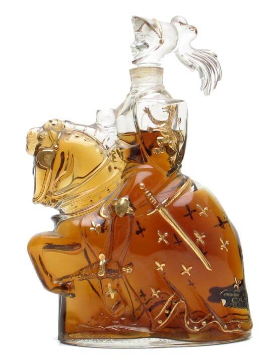 Castagnon Armagnac Knight Decanter Clear The Whisky